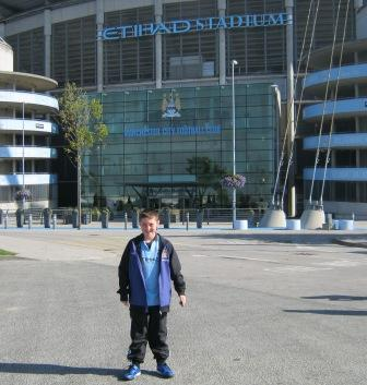 Outside the Best Stadium in the World