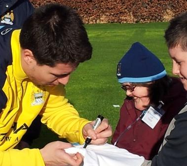 Meeting Samir Nasri
